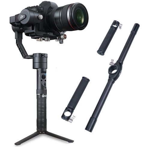 Zhiyun Crane Plus Gimbal + Dual Handheld Grip voor €259