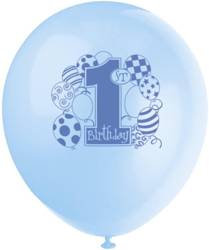 8 Latex verjaardagsballonnen voor €0,60