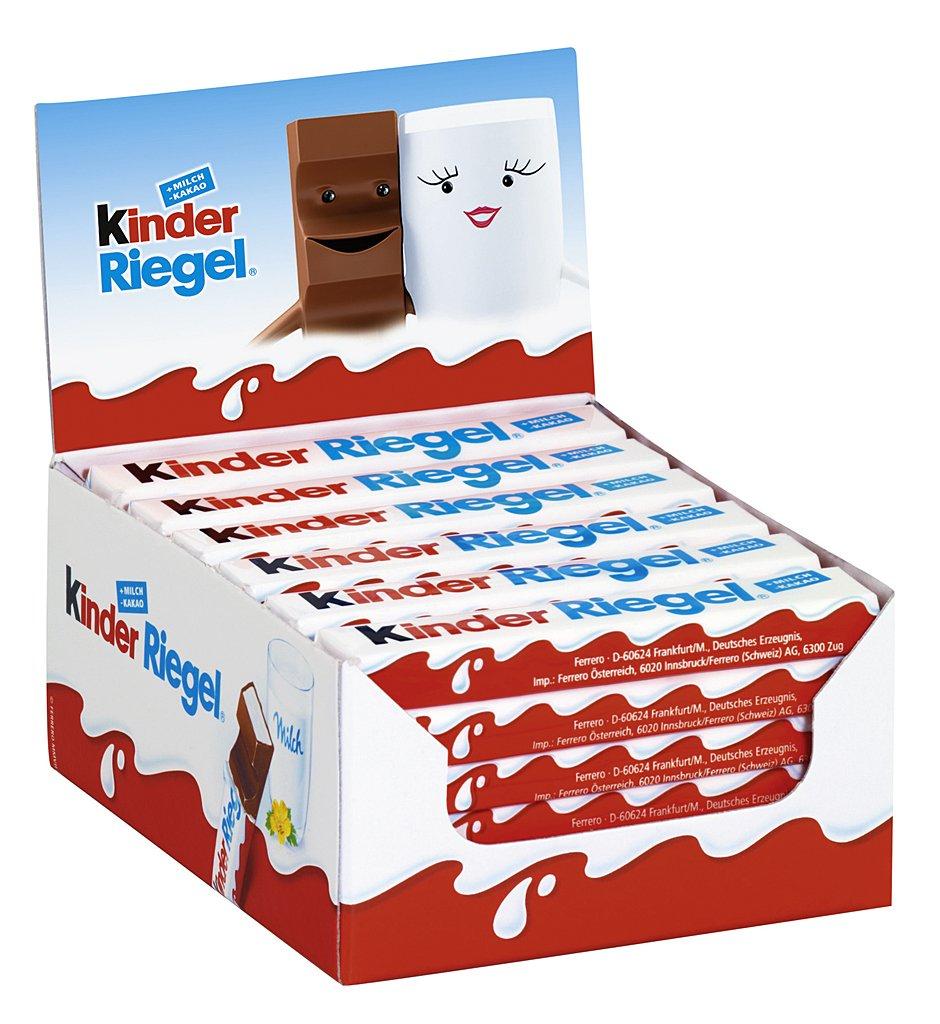 36x Kinderbueno Chocoladerepen voor €9,69