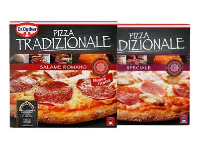 Dr. Oetker Tradizionale Pizza's voor €1,54 bij Hoogvliet