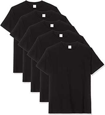 5-Pack heren T-Shirts Luigi Bottoni voor €9,24