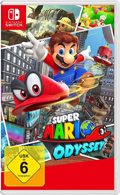 Nintendo Switch Super Mario Odyssey voor €40,46