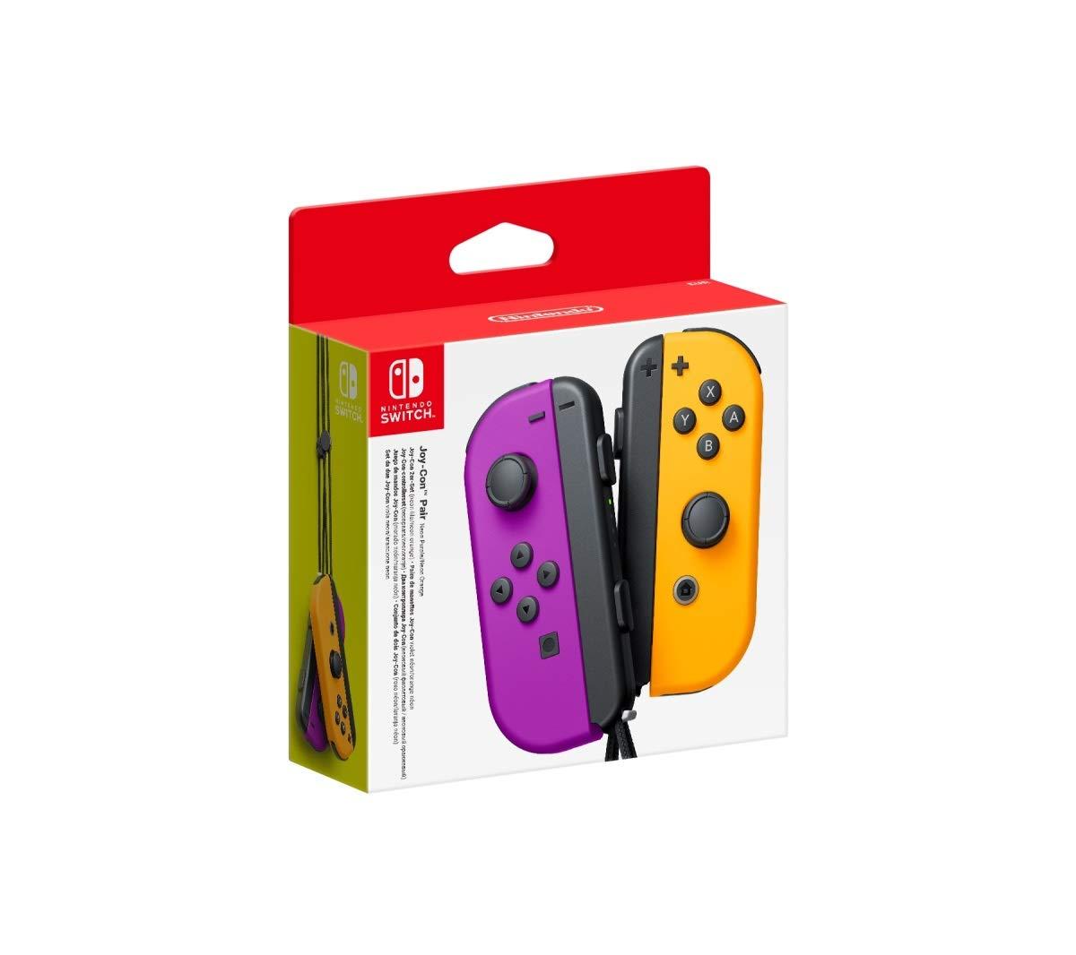 Nintendo Joy-Con controllers paars/oranje voor €61,78