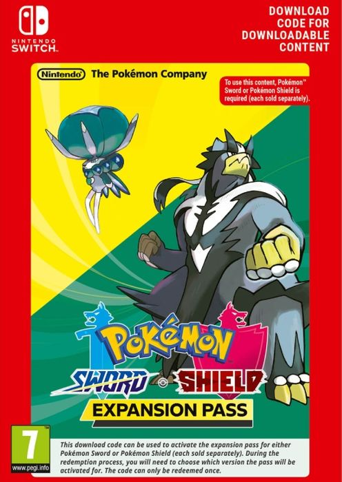 Pokemon Sword / Shield – Expansion Pass – Nintendo Switch Download voor €24,18