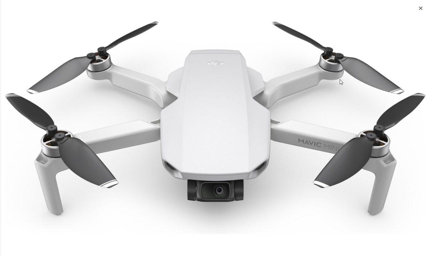 DJI Mavic Mini Fly More Combo voor €369