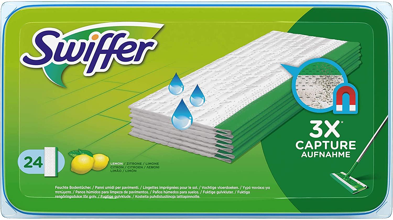 Swiffer Wet Wipes navulling 3×24 stuks voor €9,29