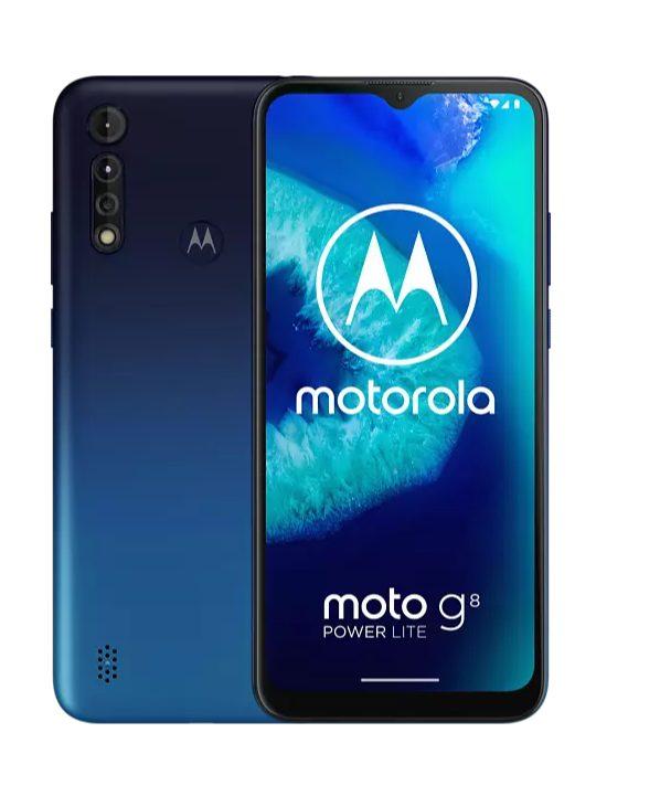 Moto G8 Power Lite – 64 GB Blauw voor €125,99