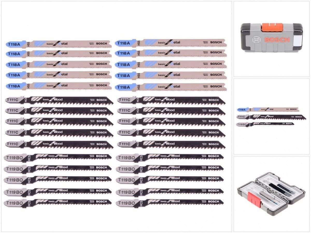 Bosch 30-delige Decoupeerzaagbladenset voor €17,28