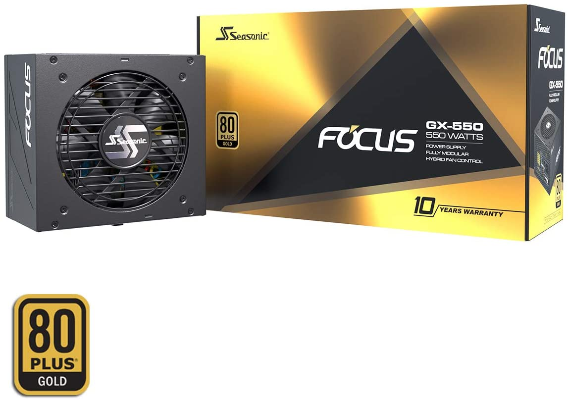 Seasonic Focus GX-550 voor €85,52