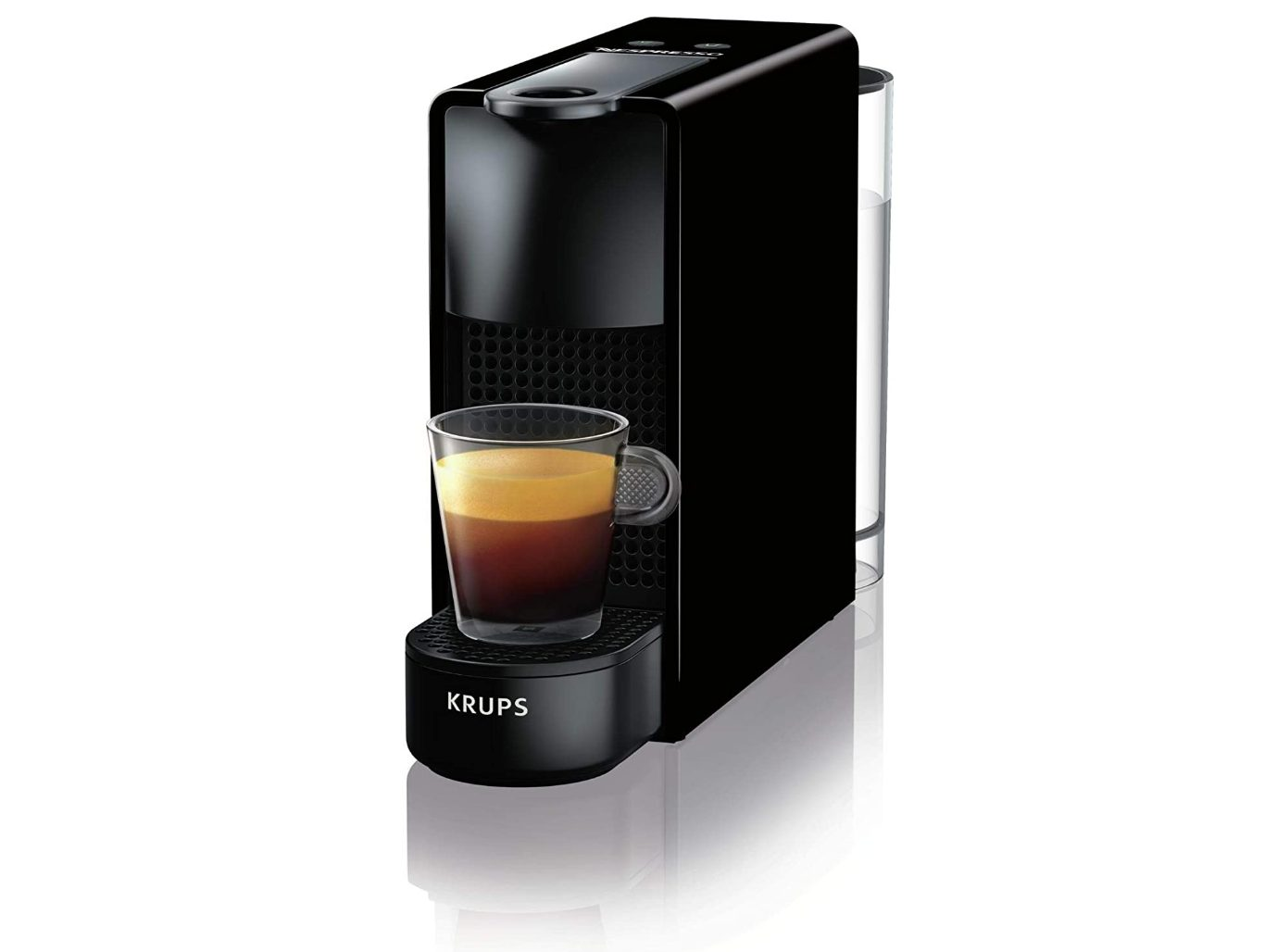 Krups Essenza Mini Piano Black XN1108 Nespresso machine + 50 capsules voor €49,99