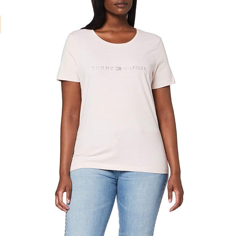 Tommy Hilfiger Tiara Regular Vrouwen T-shirt voor €15,84