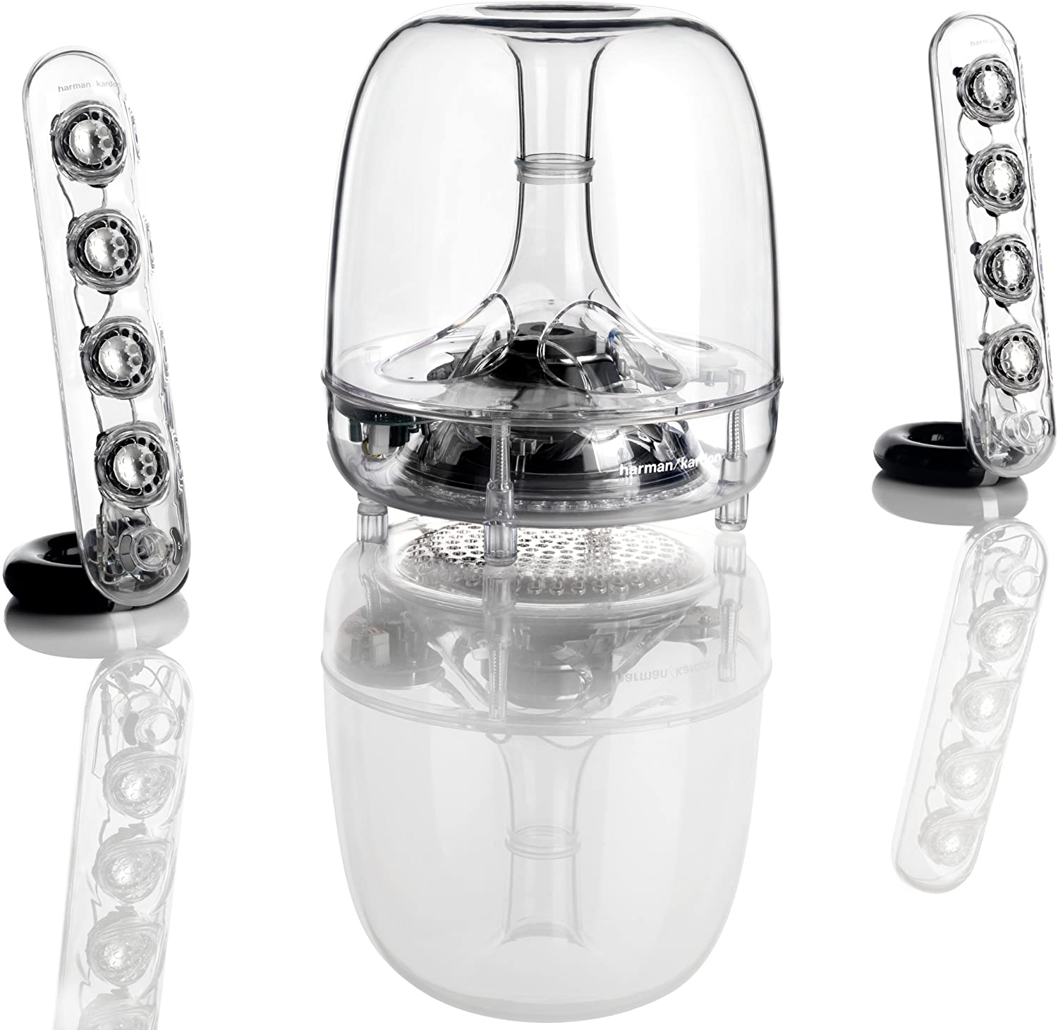 Harman Kardon SoundSticks III – 2.1 speakerset – Transparant voor €113,70