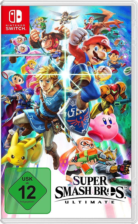Nintendo Switch Super Smash Bros Ultimate voor €49