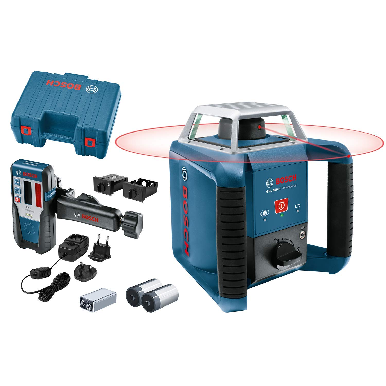 Bosch GRL400H Rotatielaser + BT170HD Professional voor €378,60