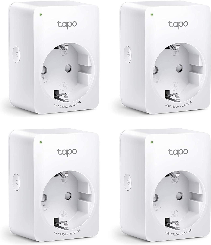 TP-Link Tapo P100 smartplug 4 stuks voor €34,30