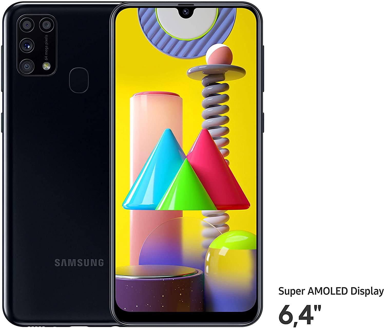 Samsung Galaxy M31- 64GB – Zwart voor €222