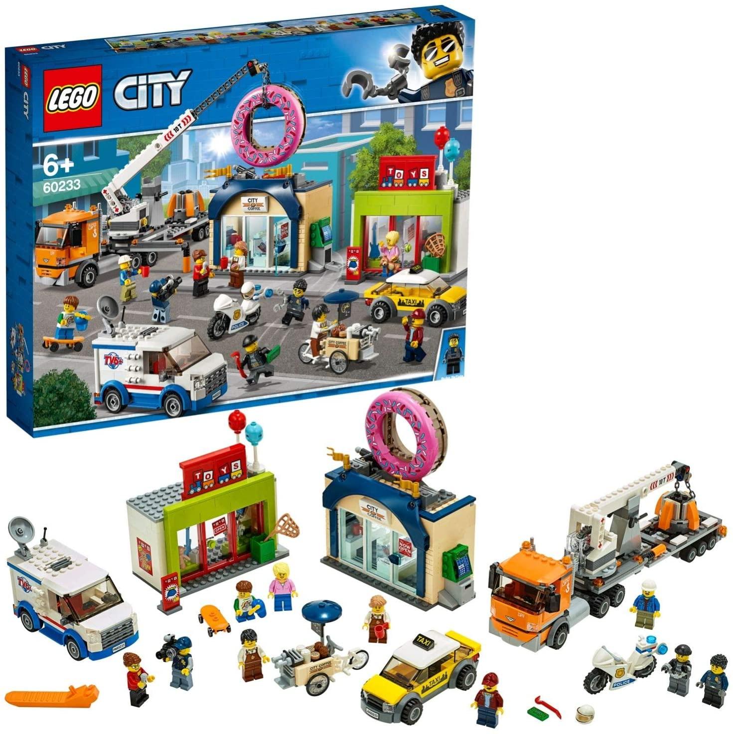 LEGO® CITY 60233 Opening donutwinkel voor €51,94