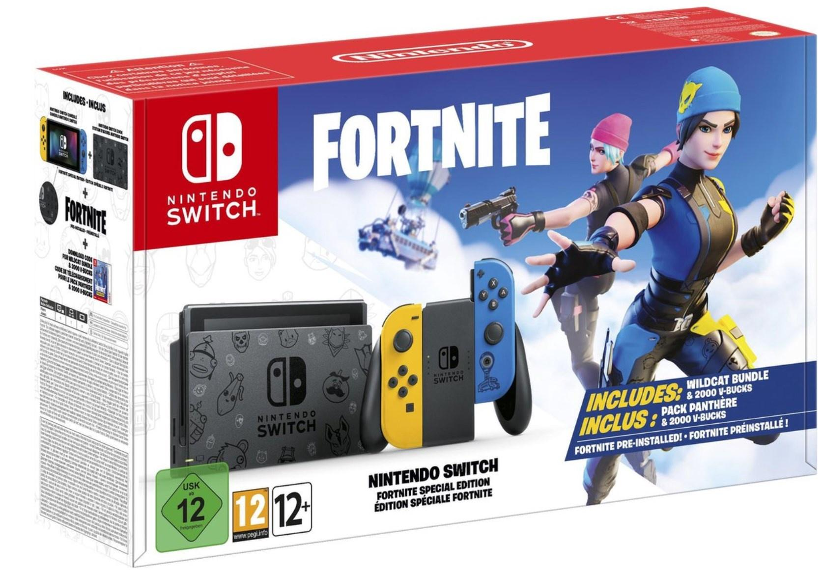 Nintendo Switch Fortnite Special Edition Bundle voor €328