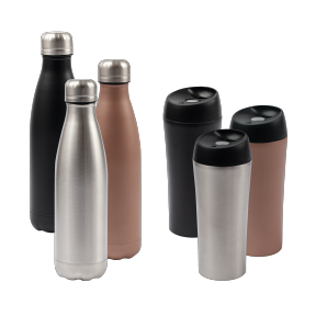 RVS thermo drinkbeker of fles voor €4,99