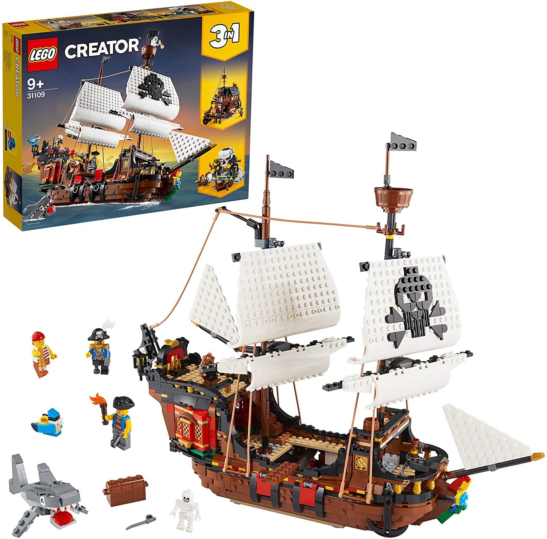 LEGO Creator 31109 – Piratenschip voor €77,16
