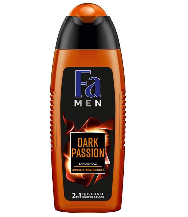 Fa Dark Passion Sensual Fresh Douchegel 6x250ml voor €4,60