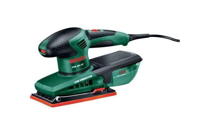 Bosch PSS 250 AE Elektrische Schuurmachine voor €58,48