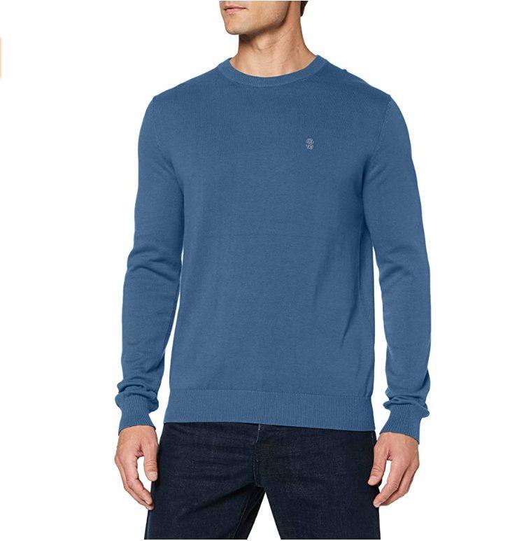 Blauwe Izod trui met ronde hals voor €9,78