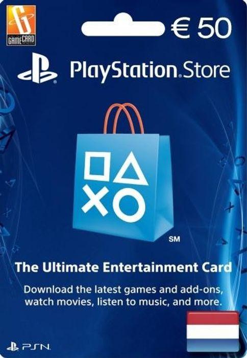 Playstation Network Kaart van €50,- voor €40,99