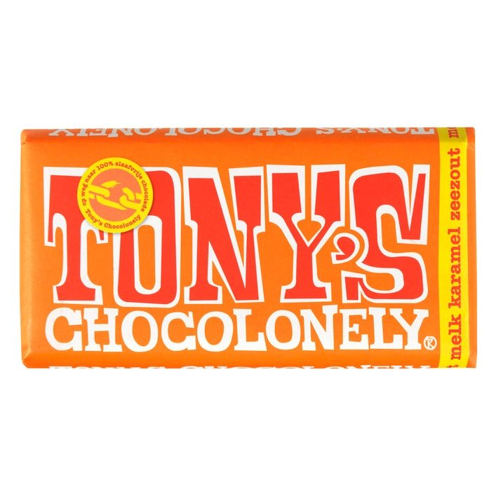 Alle Tony's Chocolonely repen 180 gram voor €2