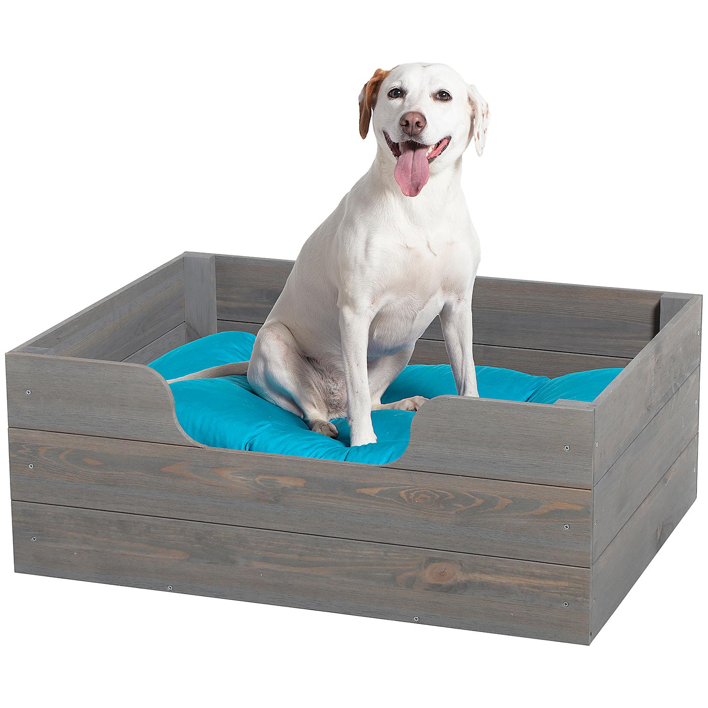 Houten hondenmand 76x58x27cm voor €19,95