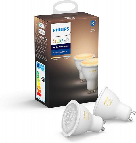 Philips Hue GU10 Spot 2-Pack – White Ambiance voor €29,03