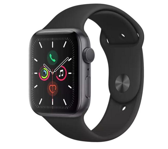 Apple Watch Series 5 44 mm – Spacegrijs voor €355,80 (Grensdeal)
