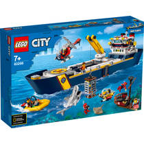 LEGO City Oceaan Onderzoekschip 60266 voor €79,99 door kortingscode