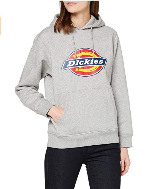 Dickies Grey Melange hoodie voor €13,98