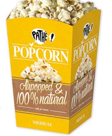 2de medium popcorn gratis bij Pathé