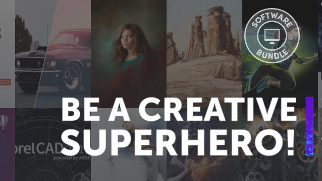 Be a Creative Superhere! Bundel vanaf €0,84