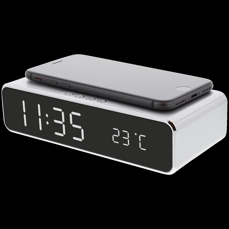 Digitale wekker met draadloze oplader voor €7,87