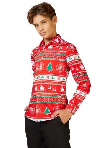 Opposuits Kids Overhemd Winter Wonderland voor €8,95