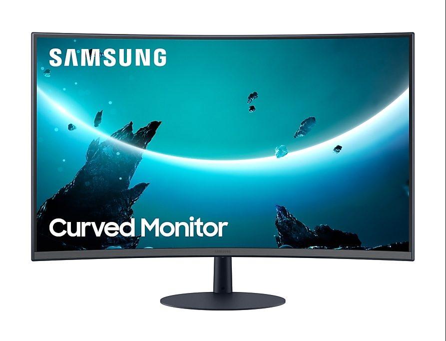 Samsung C27T550FDU 75hz 27″ Curved Monitor voor €199