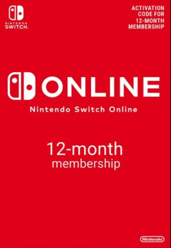 Nintendo Switch Online 12 maanden lidmaatschap voor €16,89