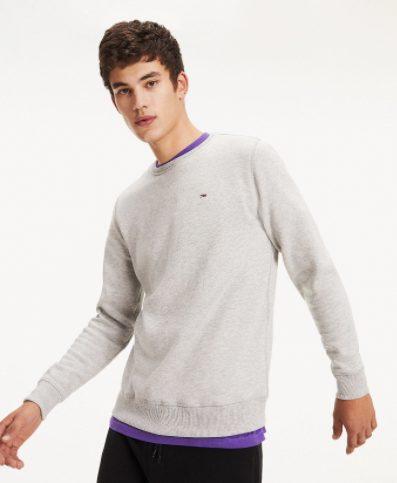 Fleece sweatshirt Licht Grijs voor €34