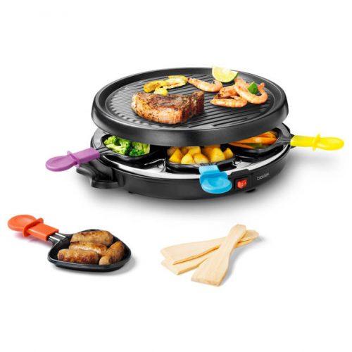 Blokker gourmet/raclette BL-26205 – 6 personen voor €12,99