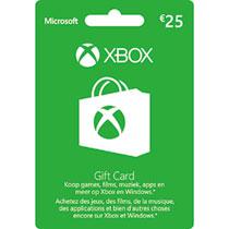 €25,- Xbox Live Giftcard voor €9,98 bij Intertoys