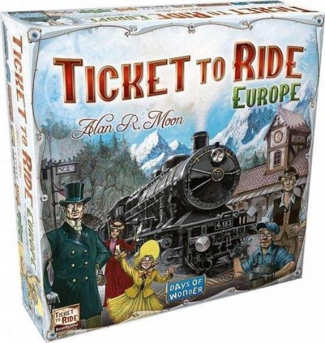 Days of Wonder – Ticket to Ride – Europe voor €27,89