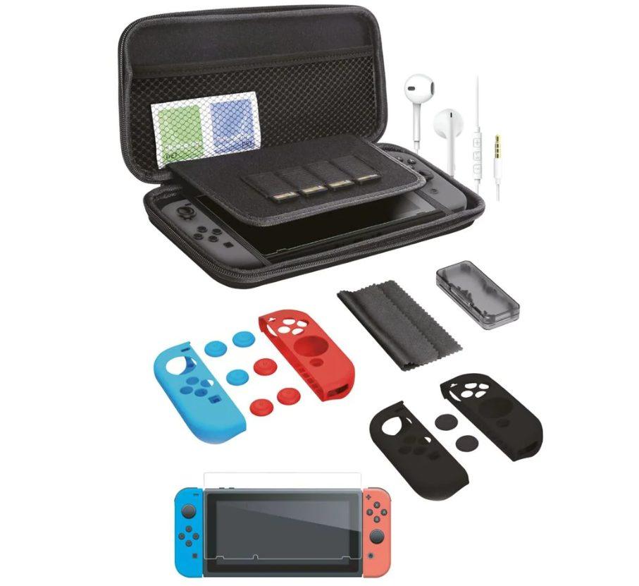 Accessoireset voor de Nintendo Switch €12,99