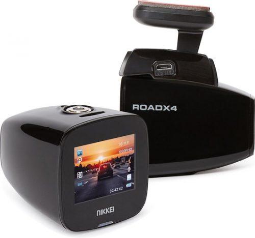 NIKKEI ROADX4 Full-HD Wi-Fi Dashcam incl GPS voor €39,99