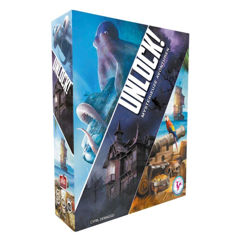 Diverse Unlock! Escape Room Spellen voor €19,98