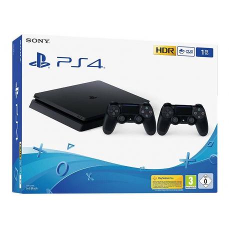 Sony Playstation 4 500GB Slim incl. Fortnite en 2x controllers voor €379