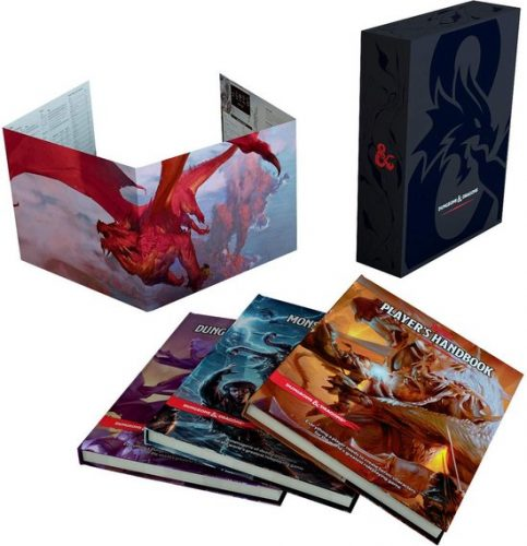 Dungeons & Dragons: Core Rules Gift Set voor €102
