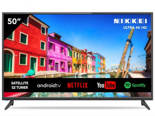Nikkei 50″ Ultra HD DLED Smart TV voor €299,95